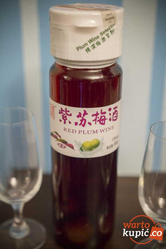 chinskie wino sliwkowe czerwone